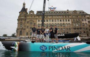 Topi Heikkinen & GAC Pindar in Istanbul Pic credit Mark Lloyd