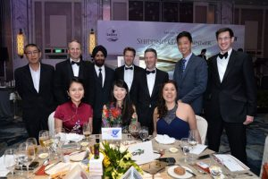 Cargill staff and guests enjoying the Singapore Dinner