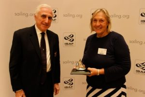ISAF President Carlo Croce with Betsy Alison