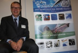Don Bubar and Avalon's two flagship projects.