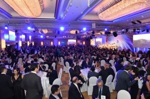 Over 1, 100 guests attended - an all time record