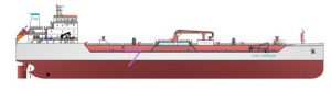 The new chemical tankers under construction at shipyards in Vietnam will feature a Wärtsilä integrated solution