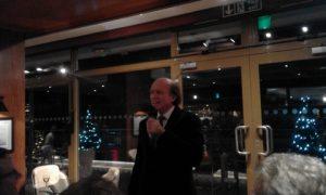 Andreas A. Tsavliris delivering his speech