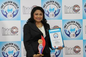 Meena Mathews, GAC's Regional P&I Manager for the Middle East