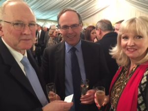 Nigel Ready, Philip Wake and Frances Baskerville