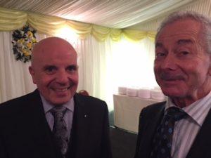 John Gauci-Maistre with James Brewer