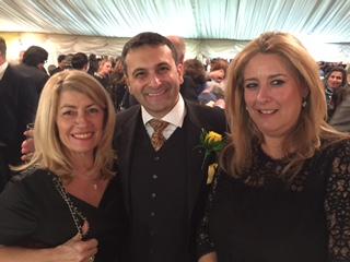 ...smilling faces: Anny Zade, Saurabh Mehrotra and Aggeliki Koutoulia