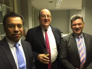 Dr. Abdul Rahim, John Vanezos and Dimitris Monioudis