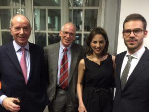 Robert Coleman, Christoforos Coccolatos, Chryssa Papathanassiou and John C. Coccolatos