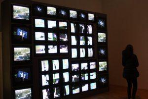 Internet Dream. 1994. Video sculpture. By Nam June Paik. ZKM Center for Artand Media, Karlsruhe. c Nam June Paik Estate.