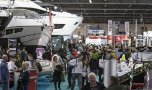 A view of the London Boat Show 2016