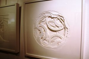 What Lies Beneath. Paper sculpture. By Buffy Kimm.