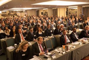 A full house attending the best ever Capital Link event in Greece