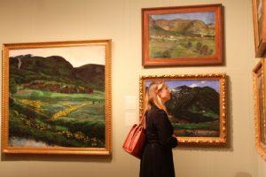 Nikolai Astrup landscapes on show at Dulwich.