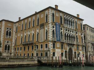 The impressive Palazzo Cavalli-Franchetti on Venice's Grande Canale