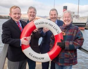 Mike Cantlay OBE (VisitScotland), Iain Robertson (LLSC), Neil Patterson (OSD), and Jimmie Macgregor (writer and broadcaster) [Paul Saunders Photography]