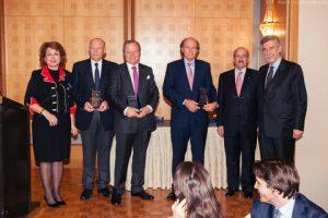 l to r: Olga Bornozis, Nicolas Tsavliris, George Tsavliris, Andreas Tsavliris, Nicky Pappadakis and    Nicolas Bornozis