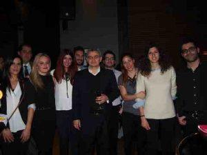 Dr. M. Kavussanos, MSc Director, Athens University of Economics & Bussiness & his MSc students
