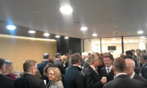 What a networking coffee/tea break that was!