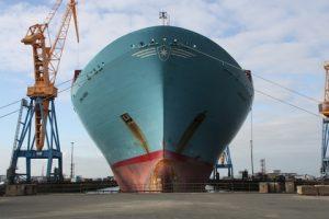 Emma Maersk at DSBr