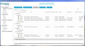 A screenshot of Flexible and user-friendly safety management reporting with DNV GL's ShipManager QHSE