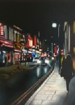 Shoreditch nights by Andrea Tyrimos