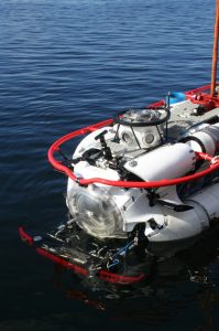 DSAR (Deep Search and Rescue) submarine vehicle launch and recovery LARS.