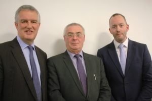 l to r: Andrew Paton, Keith Sturges and Mark Meredith