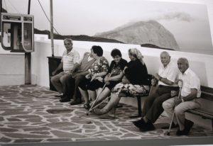 Scene on the island of Anafi. By Theodora Symeonoglou.