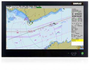 Simrad MARIS900 ECDIS (screen)