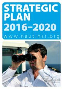Nautical Institute Strategic Plan 2016-2020