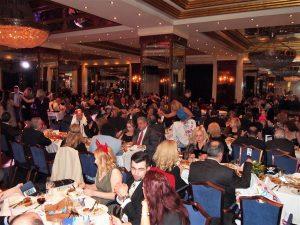A view from the Aegean Sea Ballroom