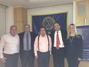 l to r: N. Dionysopoulos, E. Tsevdos, J. Kokarakis, C. Leontopoulos, A. Gerogiannaki