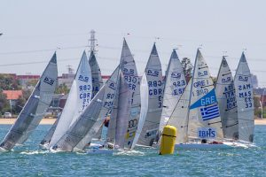 2.4 Fleet at the 2015 Worlds in Melbourne