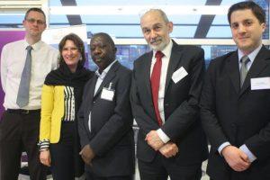 Nick Howe, Teresa Potocka, Ade Awokoya, Michael Dembinski, Timo Weber.