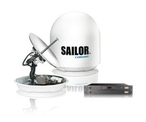 SAILOR antennas for largest Fleet Xpress install project