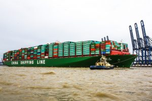 A CSCL containership