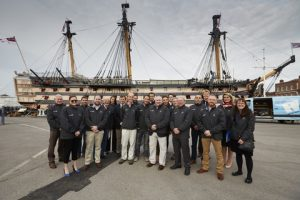 Delegates at HMS Victory