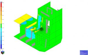 Fine mesh modelling of local details and fatigue assessment