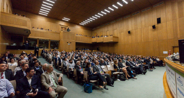 A full house at the Evgenidion Auditorium