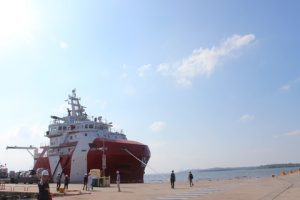 """The state-of-the-art Offshore Support Vessel (OSV) """"VOS Prince"""""""