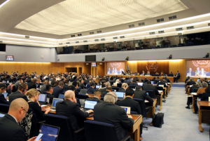A view of the opening of MEPC