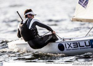 Jonathan Lobert at the 2015 Olympic Test Even