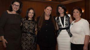 l to r: Marina Papaioannou, Maria Mavroudi, Angie Hartmann, Dorothea Ioannou and Ioanna Topaloglou