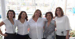 WISTA Hellas BoD 2016-2018: l to r:Elpi Petraki, Maria Mavroudi, Angie Hartmann, Ioanna Topaloglou, Maria Angelidou
