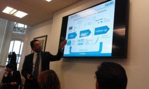 Dr. Rahim delivering his speech