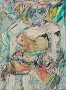 Woman II by Willem de Kooning.