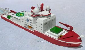 An illustration of the icebreaker