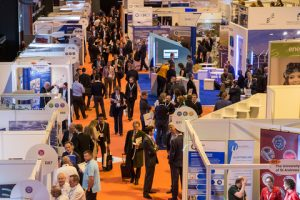 Busy aisles at All-Energy 2016
