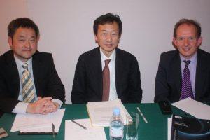 Prof Yuji Genda, Hiroshi Suzuki, Henry Tricks.